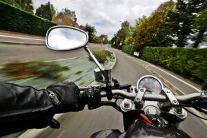 motorcycle, road, speed