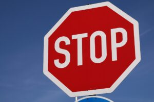 stop, shield, road sign