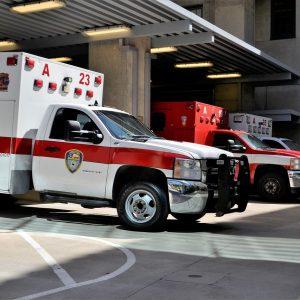 emergency room, hospital, ambulance