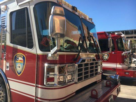 Houston fire truck